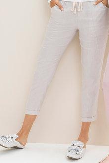 Emerge Linen Key Pants - 224520