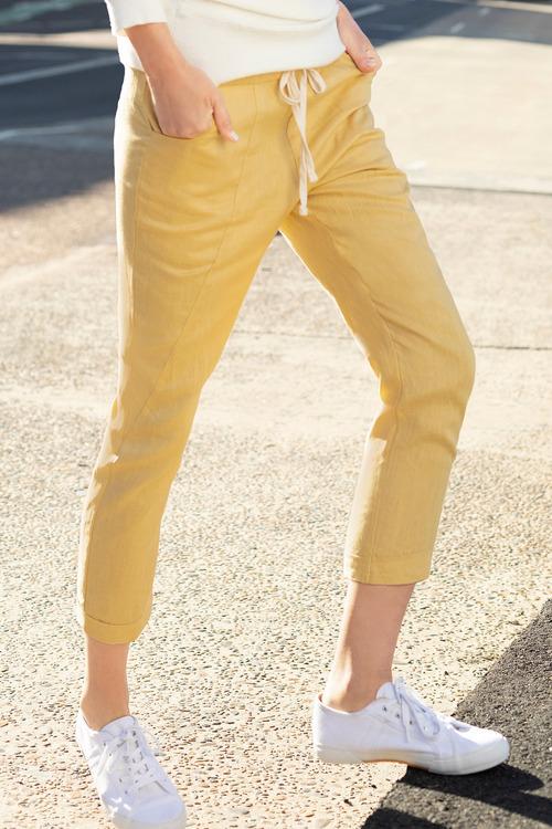 Emerge Linen Key Pants