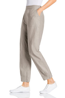 Grace Hill Linen Cuff Detail Pant