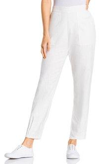 Grace Hill Linen Cuff Detail Pant - 224530
