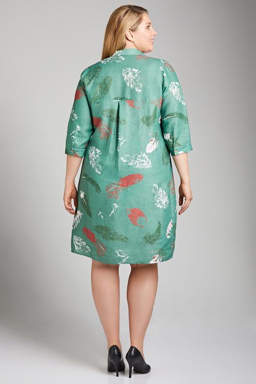 Plus Size - Sara Linen Dress