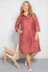 Plus Size - Sara Linen Dress