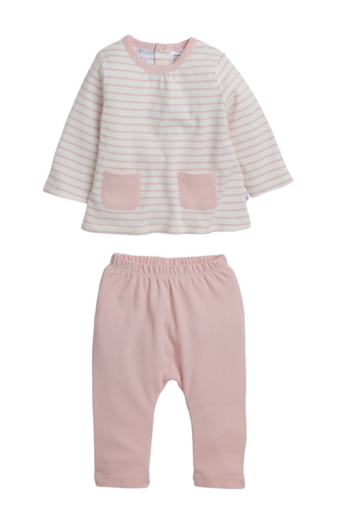 Pumpkin Patch Striped 2 Piece Set