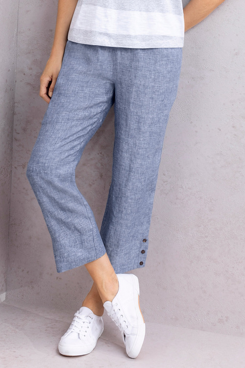 Capture Linen Cuff Pant