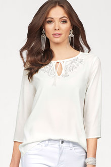Urban Keyhole Top with Gems - 224564