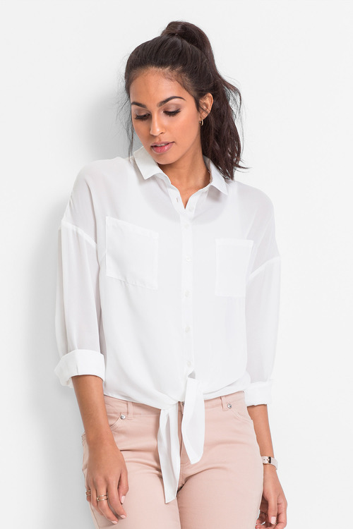 Urban Floaty Knotted Shirt