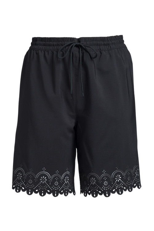 Sara Swimwear Laser Cut Swim Shorts