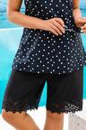 Sara Swimwear Laser Cut Swim Shorts