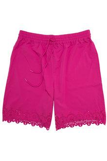 Sara Swimwear Laser Cut Swim Shorts - 224578