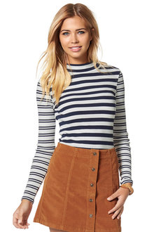 Urban Striped Rib Top - 224593