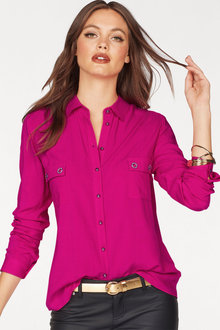 Urban Shirt with Eyelet Details
