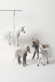 Sparkles Mini Unicorn Hanging Decorations Set of Two - 224622