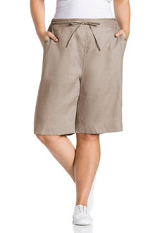 Plus Size - Sara Linen Short - 224627