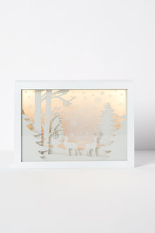 Woodland LED Lightbox