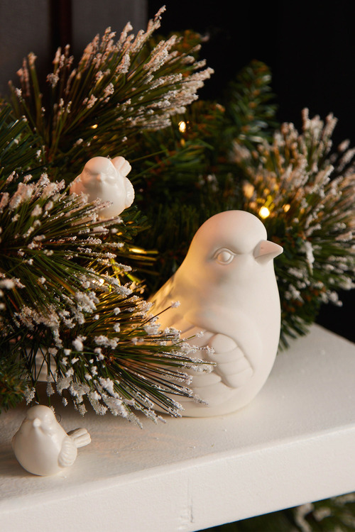 Robin Ornament Set of Two