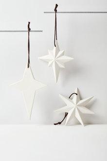 Star Assorted Hanging Decorations Set of Three - 224650