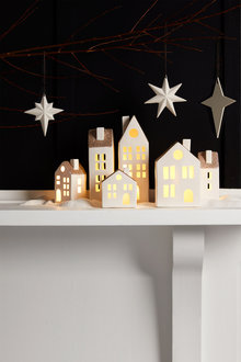 Star Assorted Hanging Decorations Set of Three