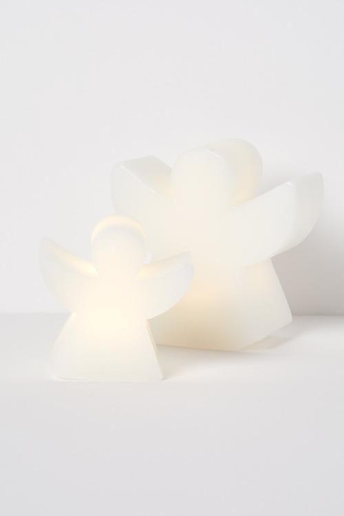 LED Angel Candle