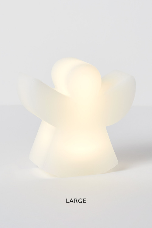 LED Angel Candle