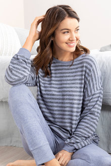 Mia Lucce Cosy Long Sleeve PJ Top