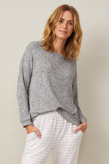 Mia Lucce Cosy Long Sleeve PJ Top - 224687