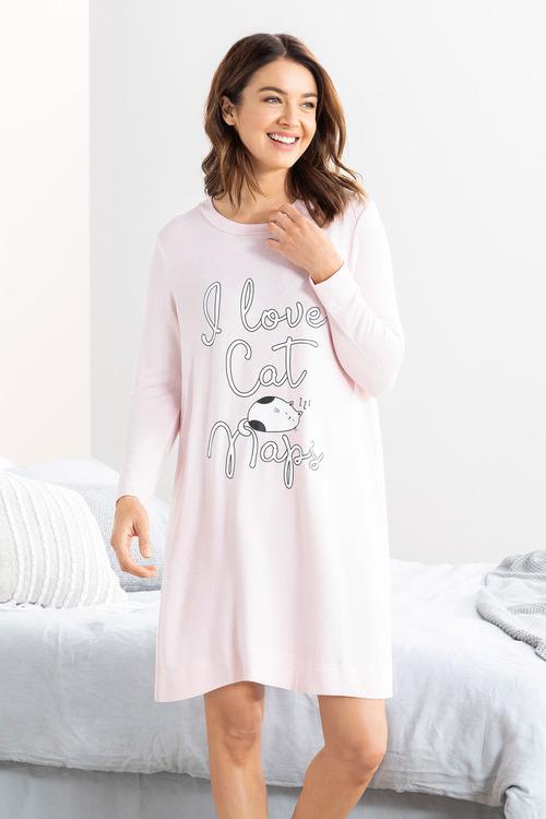 Mia Lucce Super Soft Long Sleeve Nightie