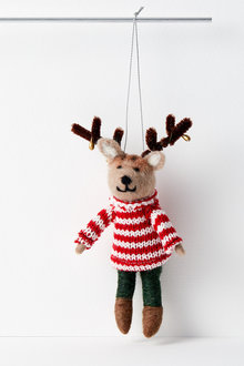 Candy Reindeer Hanging Decoration