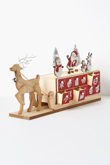 Santas Sleigh Advent Calendar