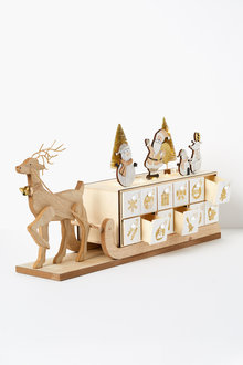 Santas Sleigh Advent Calendar - 224736