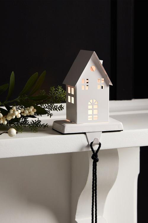 LED House Stocking Holder