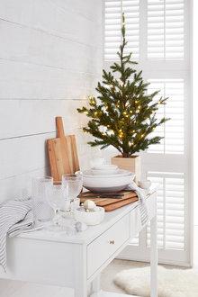 Prelit Christmas Tree with Box Planter - 224757