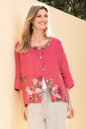 Capture Linen Buttonup Oversize Shirt