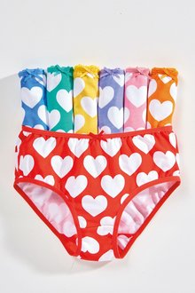Next Heart Briefs Seven Pack (1.5-12yrs)