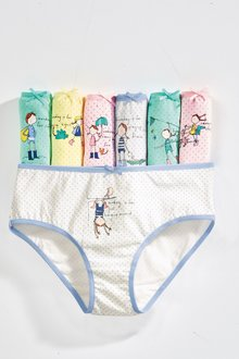 Next Day Of The Week Briefs Seven Pack (1.5-12yrs)