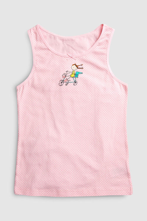 Next Character Vests Three Pack (1.5-12yrs)