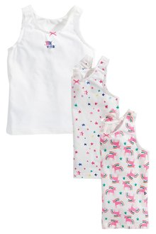 Next Unicorn Vests Three Pack (1.5-12yrs)