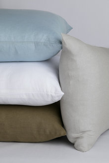 Hampton Linen Pillowcase Pair