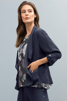 Grace Hill Drape Jacket