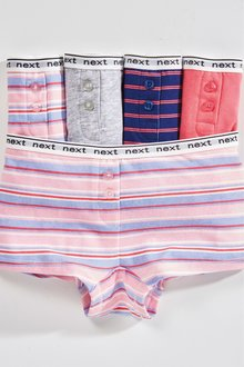 Next Stripe Boxers Five Pack (2-16yrs)