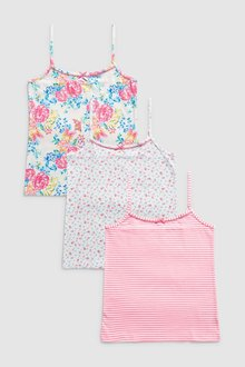 Next Floral Camis Three Pack (1.5-16yrs)