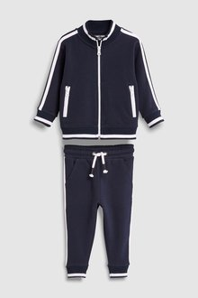 Next Funnel Neck Zip Through And Joggers Set (3mths-7yrs)