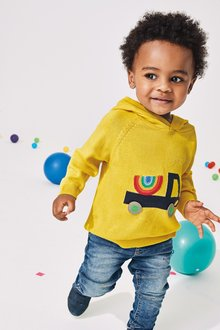 Next Rainbow Truck Hoody (3mths-7yrs)