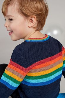 Next Rainbow Knitted Crew (3mths-7yrs)