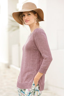 Capture Cotton Blend Sweater