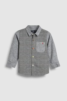 Next Check Spliced Shirt (3mths-6yrs)