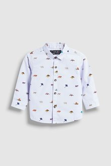 Next Dinosaur Printed Shirt (3mths-7yrs)