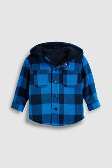 Next Check Fleece Shacket (3mths-7yrs)