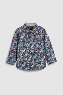 Next Floral Printed Shirt (3mths-7yrs)
