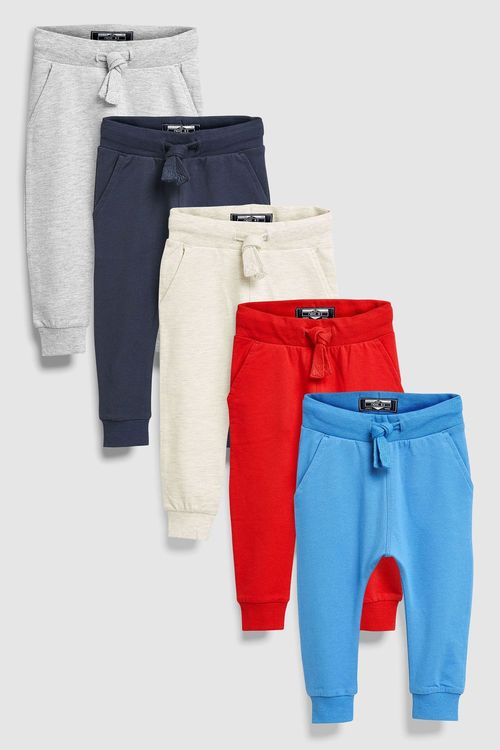 Next Joggers Five Pack (3mths-6yrs)
