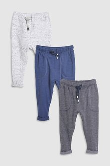 Next Lightweight Joggers Three Pack (3mths-6yrs)